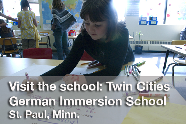 Watch a video about the Twin Cities German Immersion School