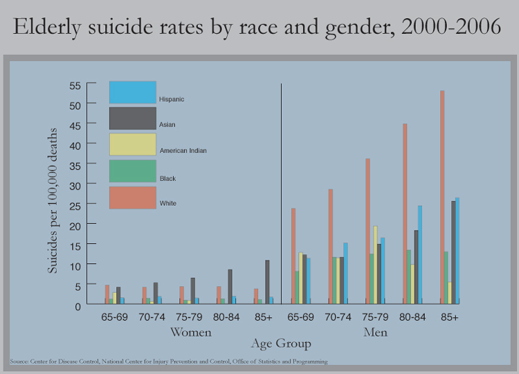 Image result for race gender suicide